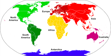 Map Of Just Asia.Is Europe A Continent Or Just Part Of Asia 24 7 Continents