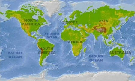 This Is The Worlds Largest Continent Continents - List of 7 continents of the world