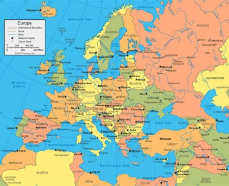Is Europe A Continent Or Just Part Of Asia? - 24/7 Continents