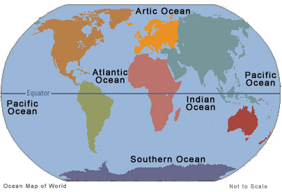 How Many Oceans Are There? - 24/7 Continents
