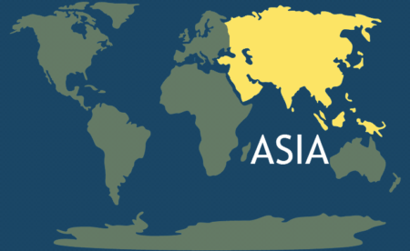 Asia Continent Continents - What is the biggest continent
